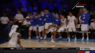 Malik Monk Crazy Assist to Wenyen Gabriel for a Dunk