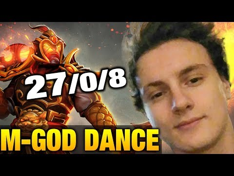 Miracle- ZERO DEATH Ember Spirit Dancing GOD - Party Game Dota 2