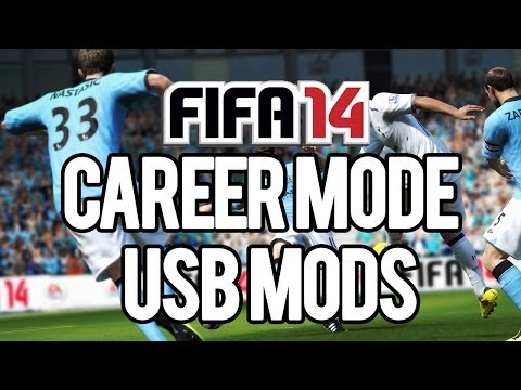 FIFA 14 - Career Mode Usb Mods Download + Tutorial
