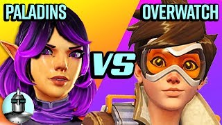 Overwatch Vs. Paladins 😱 - Which is better?!?🤔 | The Leaderboard