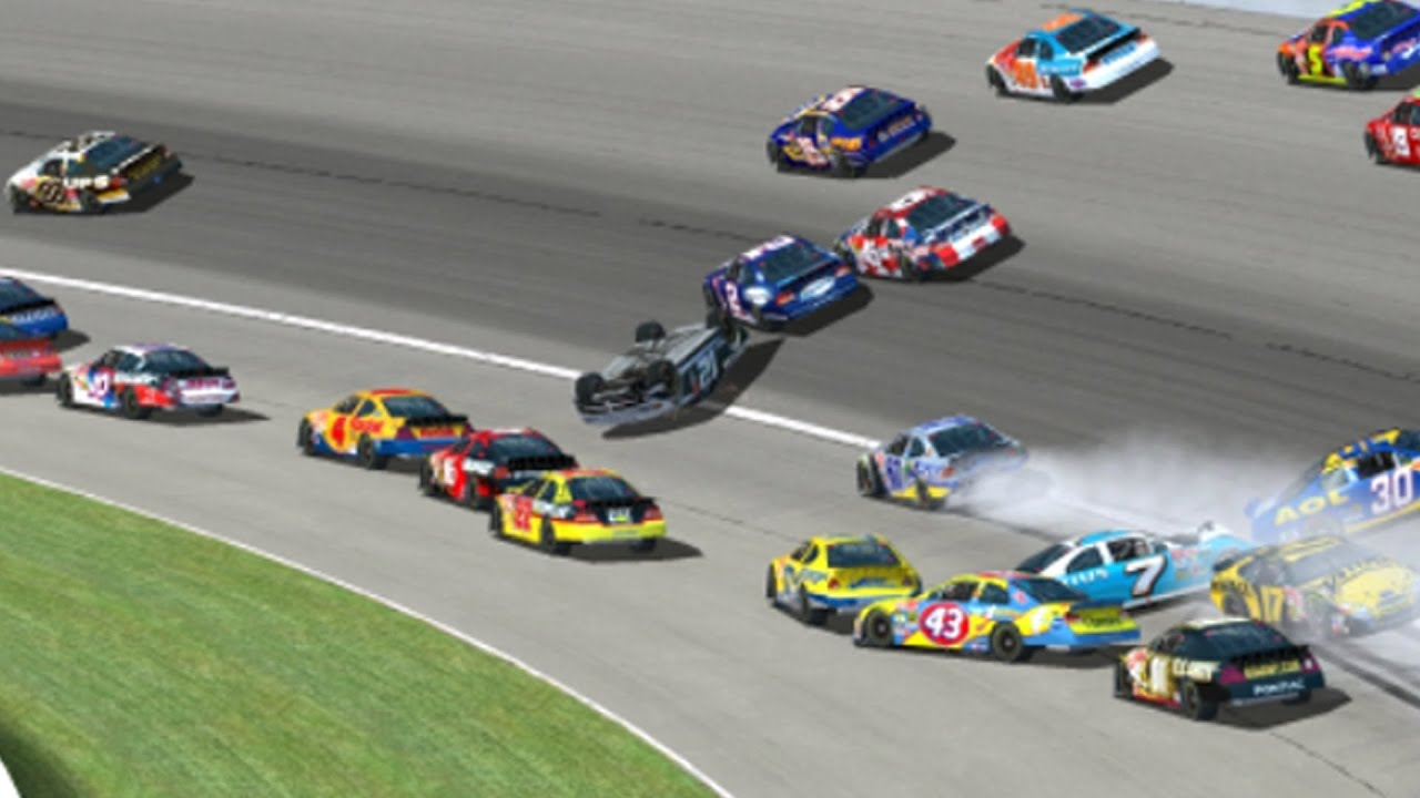 Racing Cars Crashing Youtube