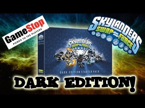 Skylanders SWAP FORCE DARK EDITION Starter Pack - GameStop Exclusive!