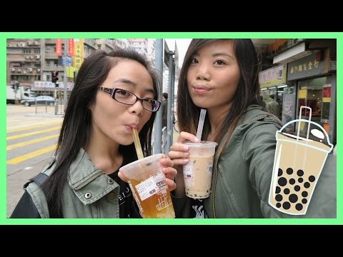 DRINKING BOBA & SINGING ON THE STREETS Hong Kong Daily Vlog