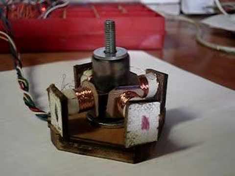 Шаговый двигатель для двд