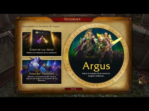 Invadimos Argus - World Of Warcraft