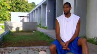 Download 1/2 Spurs Tim Duncan Back in St. Croix, Virgin Islands 2005 3Gp Mp4