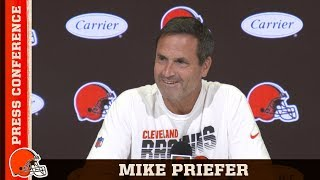 Mike Priefer Recaps Austin Seibert & Jamie Gillan's Performance vs. Jets | Browns Press Conference