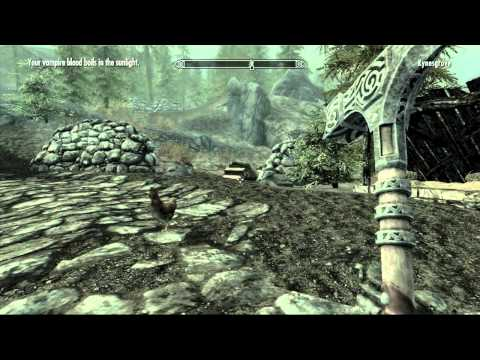 How To Start the Hearthfire DLC for Skyrim - Courier Letter