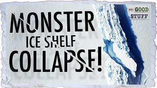 Is A Monster Ice Shelf About to Collapse . . . Again??