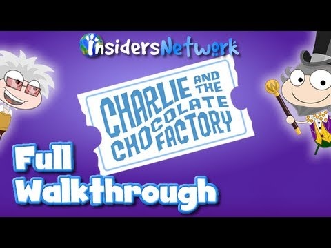  Poptropica: Charlie and The Chocolate Factory Full Walkthrough 
