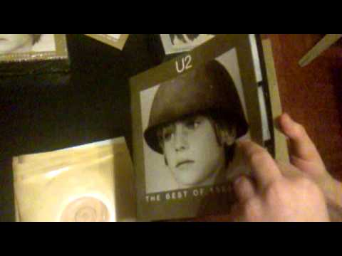U2 The Best Of 1980-1990 - unpacking