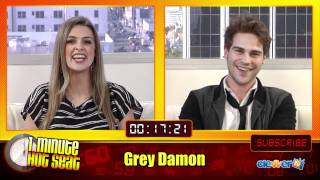 1 Minute Hot Seat - Grey Damon In The Hot Seat