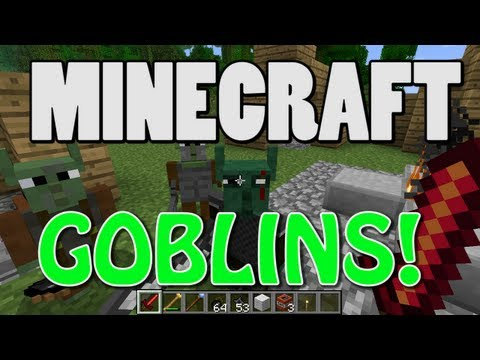 Minecraft Goblins Mod 