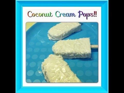 Coconut Cream Popsicles! Noreen's Kitchen Frozen Favorites! - YouTube