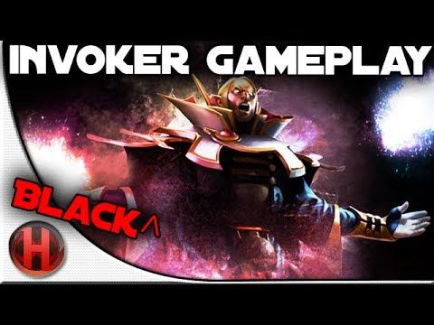Black^ Invoker Gameplay Dota 2