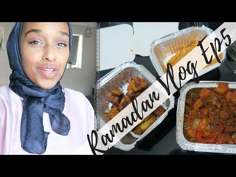 Ethiopian Tries Nigerian Jollof Rice For Iftar! | The Ramadan Bi-Weekly EP6