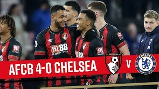 CHERRIES ON FIRE! 🔥 | AFC Bournemouth 4-0 Chelsea