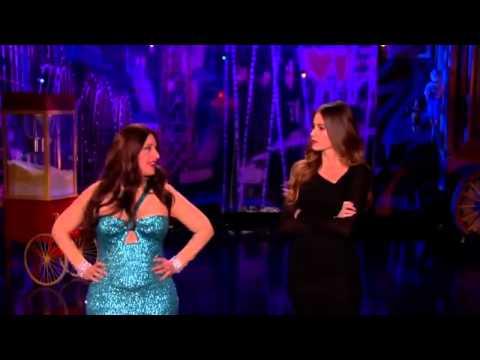 Ellen is Sofia Vergara on The Ellen Degeneres Show