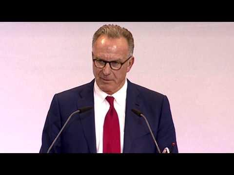 Karl-Heinz Rummenigge verkündet die Meilensteine | Jahreshauptversammlung des FC Bayern München
