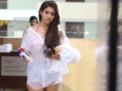 Nayanthara In White Transparent Dress(ഒരിക്കലും താന് ബിക്കിനി വേഷങ്ങള് ചെയ്യ video