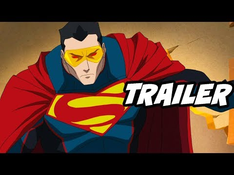 Superman Reign of The Supermen Movie Trailer thumbnail