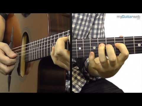 Guitar Lesson: Gypsy Jazz Lick In A Minor No 1 - With A Backingtrack