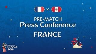 FIFA World Cup™ 2018: France - Peru: France - Pre-Match Press Conference