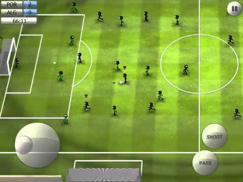 Stickman Soccer 2014 - Portugal 3 / Algeria 0