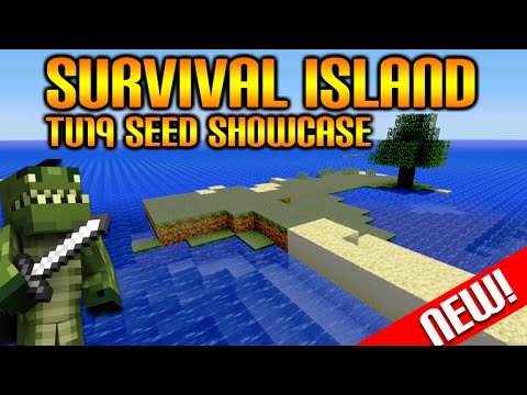 Minecraft: (Xbox360/PS3) NEW! TITLE UPDATE 19 - AMAZING SURVIVAL ISLAND SEED SHOWCASE! [NEW!]