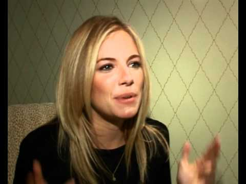 Sienna Miller on Irish accent, prosthetics and stunts