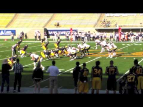Cal Bears Football Spring Game Bear-Raid Offense