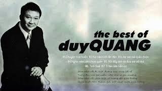 Những ca khúc hay nhất thời đại - Duy Quang
