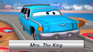Cars Daredevil Garage Mrs THE KING - Free game for kids iPhone iPad iOS / Android (Gameplay)