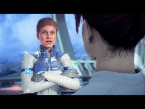 Mass Effect Andromeda - My Face is tired