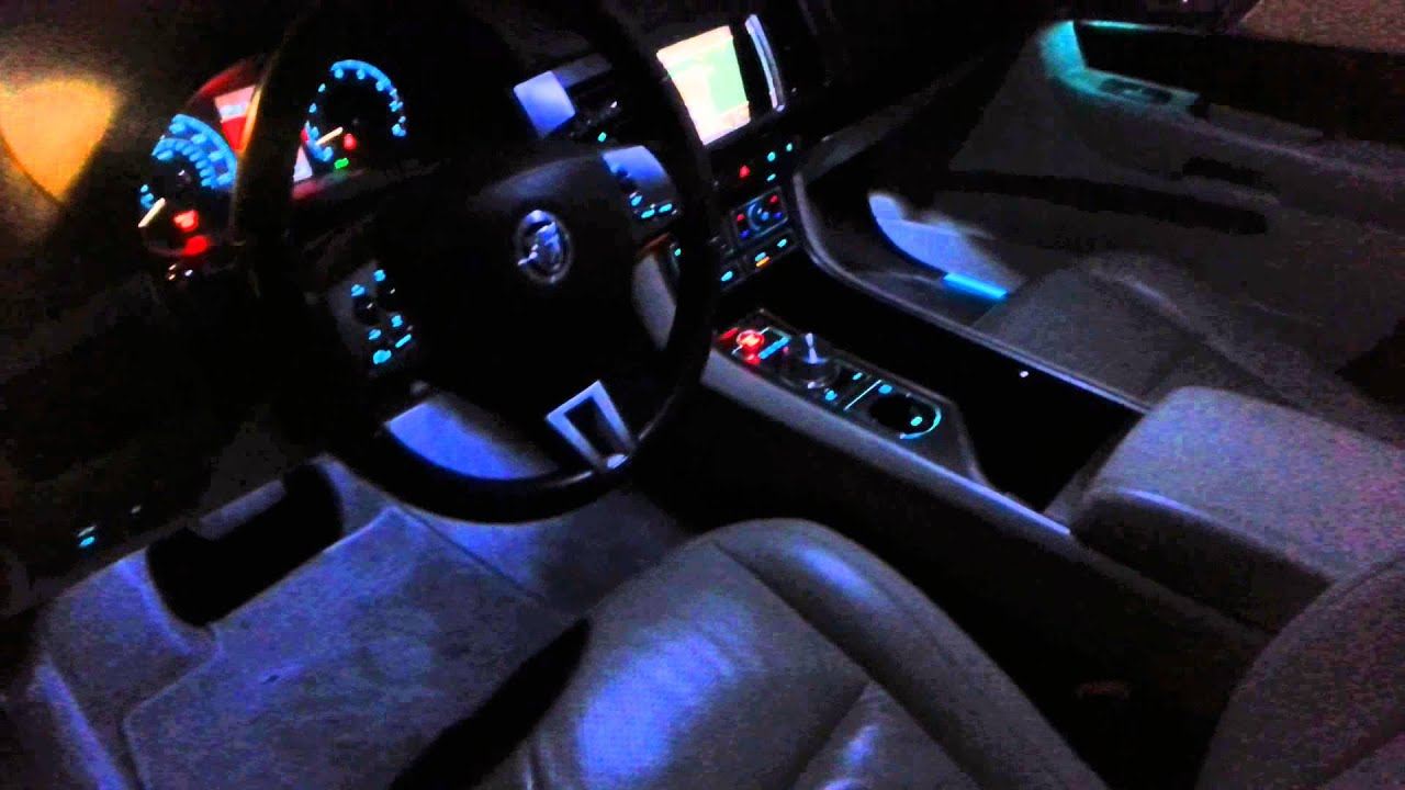 Jaguar Xf Premium Luxury At Night Youtube