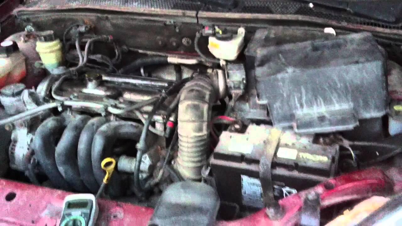 Ford Focus 1998 Fyda Engine Knock