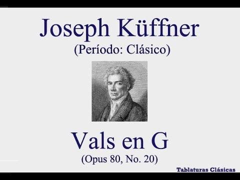 Joseph Kuffner - Opus 80 No 20 Waltz