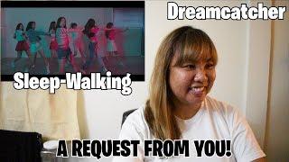 download lagu Special  Dreamcatcher드림캐쳐 'Sleep-walking' Reaction gratis