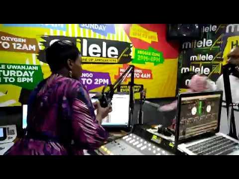 Dee (Presenter 001) And Kaka Zema fight in Studio | Milele Drive