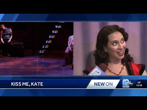 "KISS ME, KATE at Skylight Music Theatre on WISN performing ""Wunderbar"""