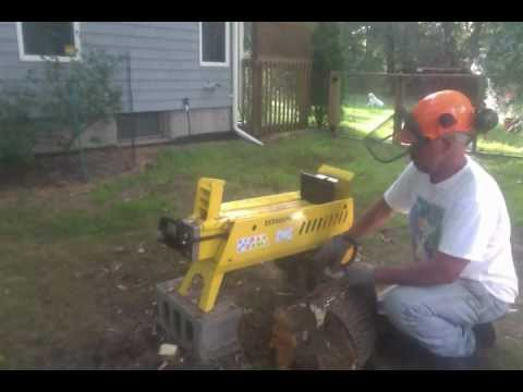 WoodEze - Electric Wood Splitter