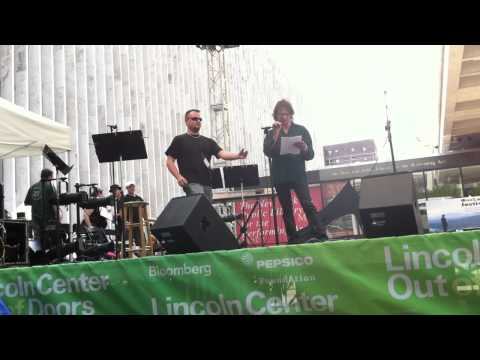 Dennis Dunaway reading at Lincoln Center, Ourland Festival -- July 29, 2012