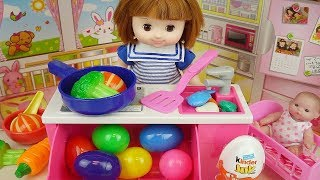 Baby doll surprise eggs Kitchen and cooking toys Baby Doli play