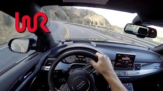 2017 Audi S8 - WR TV POV Canyon Drive