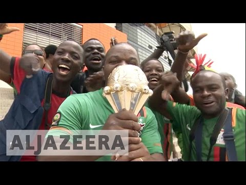 Africa Cup of Nations Zambia won their first U-20 match
