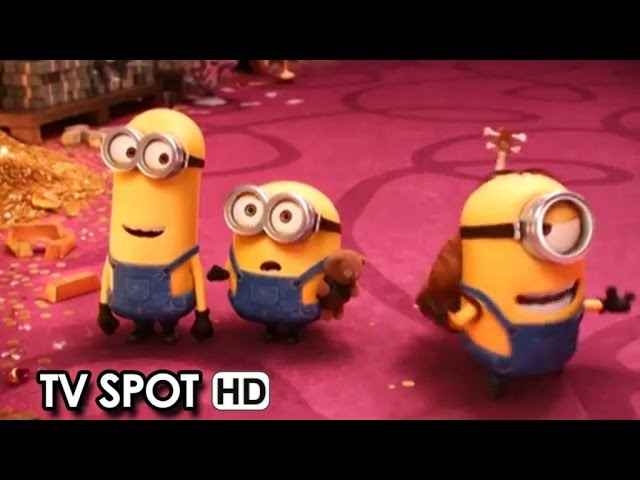 Minions TV Spot 'Witness the Beginning' (2015) HD