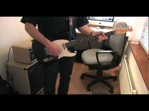 Guitar in the style of Wilko Johnson of Dr Feelgood - Part 1