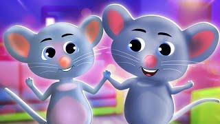 Do Chuhe the Mote Hindi Nursery Rhymes for Kids दो चूहे थे   3D Animated Hindi Balgeet Poems Songs
