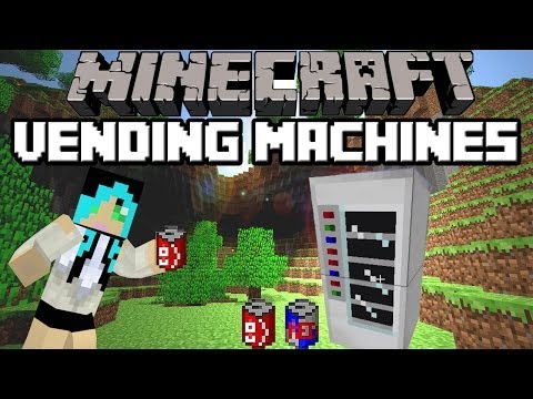 Minecraft: Vending Machine Mod 1.6.4 spotlight