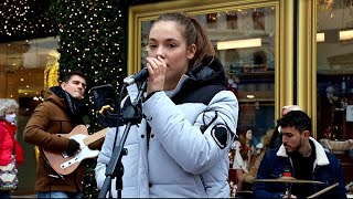 Cover Lagu - Back to Black - Amy Winehouse  Allie Sherlock & The 3 Busketeers Cover